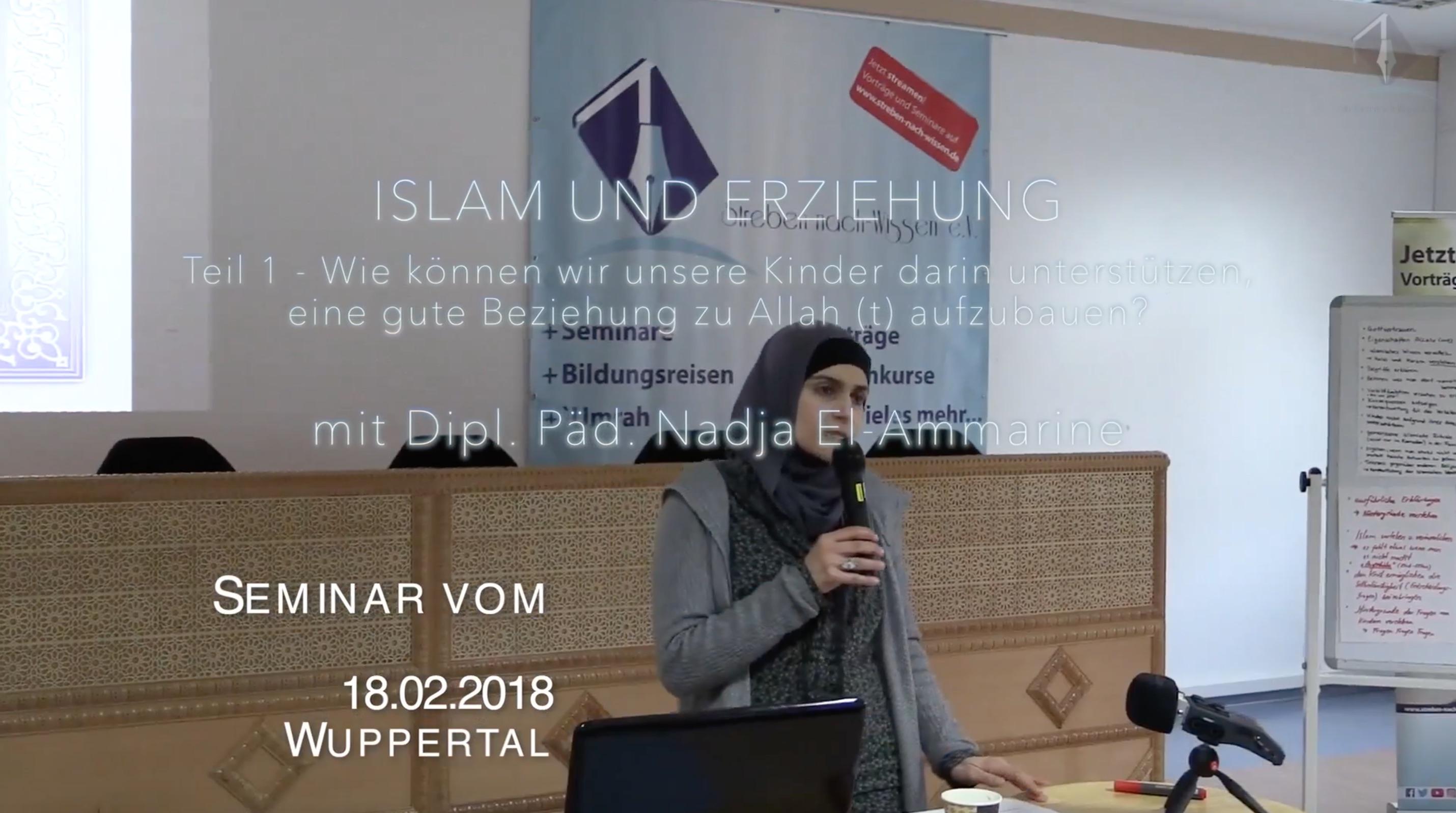Islam und Erziehung Teil 1